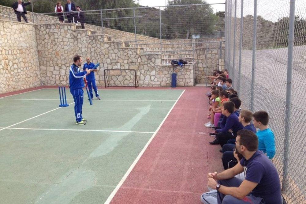 Κρίκετ: Ιδρύεται ομάδα στα στα Χανιά (photos)