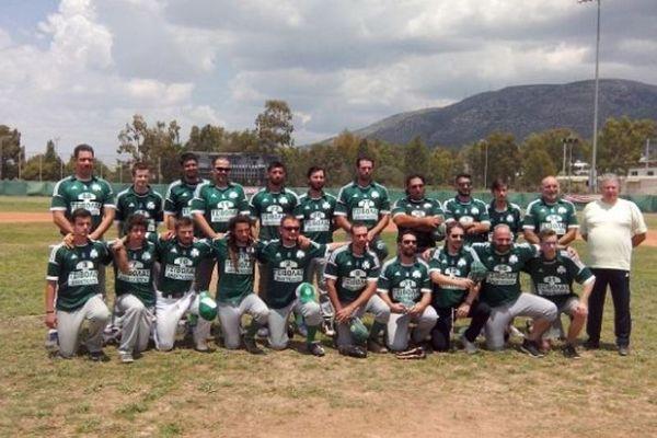 Παναθηναϊκός: Πρώτο... βήμα για τίτλο το μπέιζμπολ