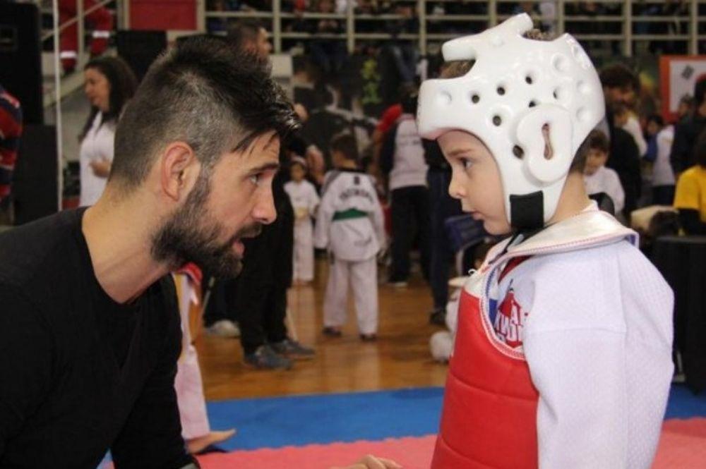 Ολυμπιακός: Εντυπωσιακοί οι μικροί του Τάε Κβο Ντο (photos)