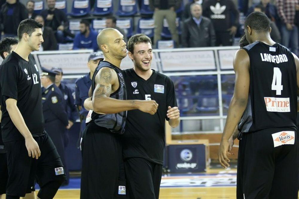 Basket League: ΠΑΟΚ - Πανελευσινιακός 69-59 (photos)