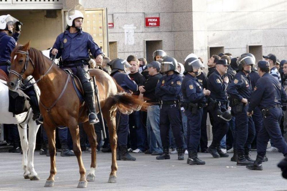 Ατλέτικο Μαδρίτης-Λα Κορούνια: Δύο συλλήψεις για τα επεισόδια