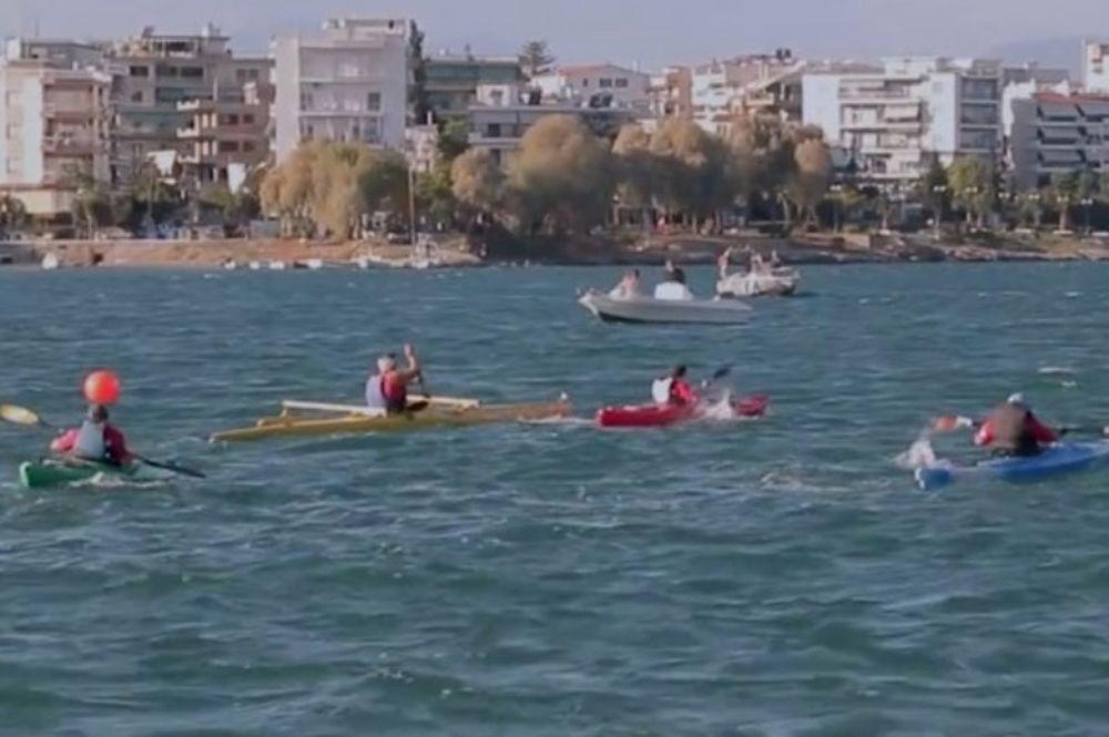 Ολυμπιακός: Συστήνει το άθλημα του Παρακανόε (video)