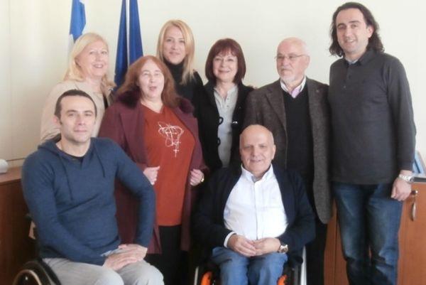 Ελληνική Παραολυμπιακή Επιτροπή: Συνάντηση με Δούρου (photos)