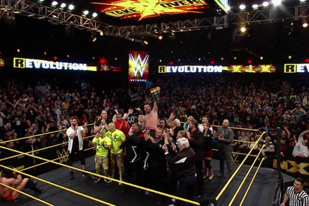 NXT: «Πονεμένος» τίτλος για Sami Zayn (photos+videos)