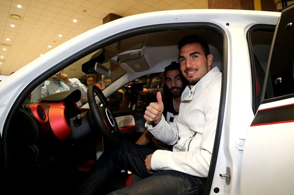 Ολυμπιακός: Σε εκδήλωση της Renault οι «ερυθρόλευκοι» (photos)
