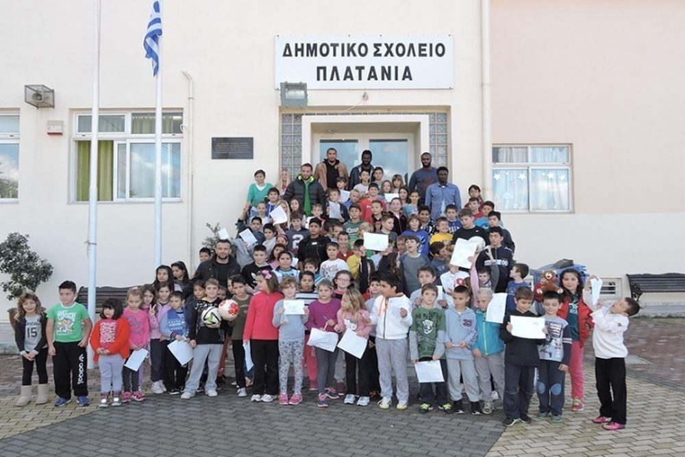 Πλατανιάς: Επισκέψεις σε σχολεία (photos)