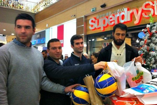 Volleyleague ΟΠΑΠ: ΕΣΑΠ και αθλητές υποστήριξαν τα «Eυχοστολίδια» (photos)