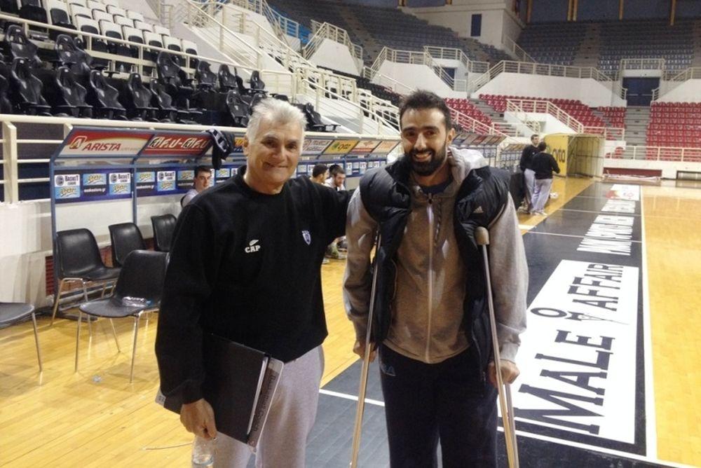 ΠΑΟΚ: Στην Πυλαία και ο Χαραλαμπίδης, εκτός ο Κάρτερ