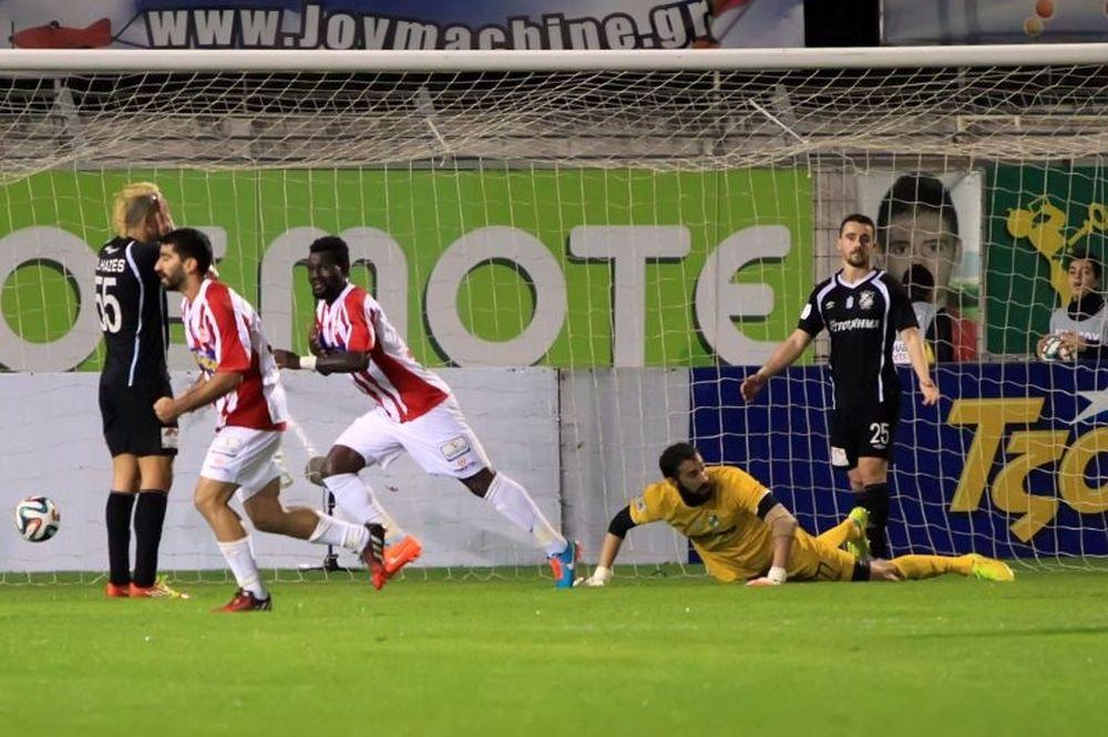 Πλατανιάς - ΟΦΗ 1-0: Το γκολ του αγώνα (video)