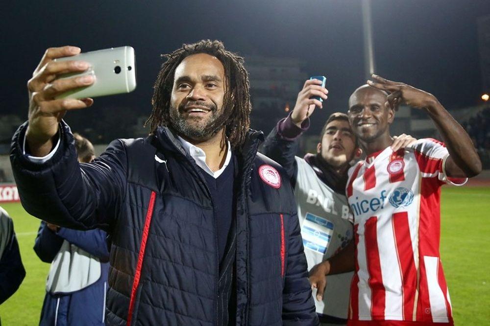 Ολυμπιακός: Η selfie Καρεμπέ για το «αντίο» του Αμπιντάλ! (photo)