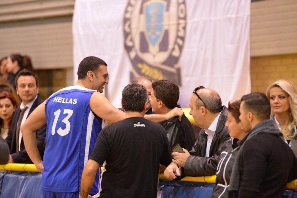Ελληνική Αστυνομία: Έπαιξε μπάσκετ για την «Κιβωτό του κόσμου» (photos)