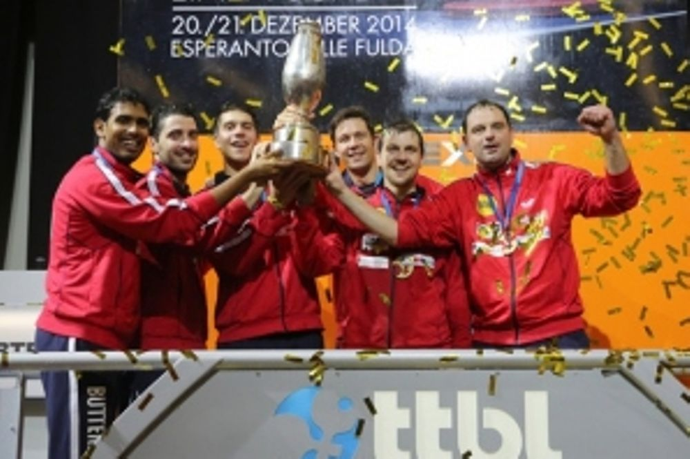 Πινγκ Πονγκ: Σήκωσε το Κύπελλο Γερμανίας ο Γκιώνης