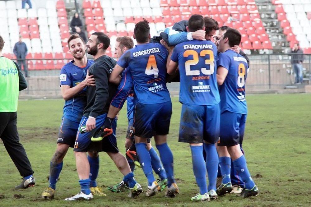Εθνικός Σερρών-Λάρισα 2-1