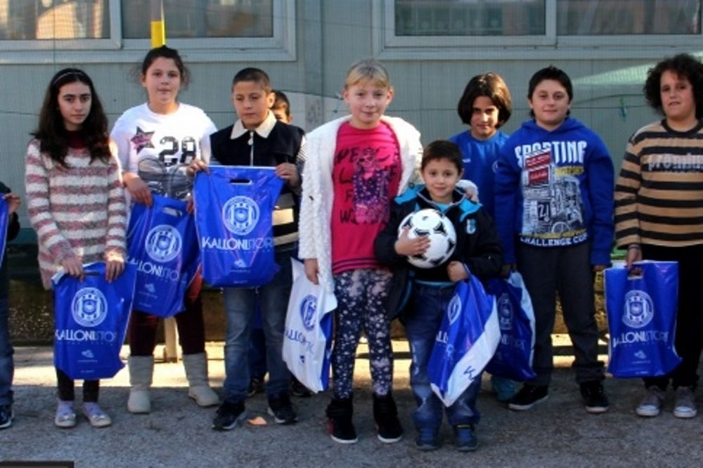 ΑΕΛ Καλλονής: Επίσκεψη σε σχολεία