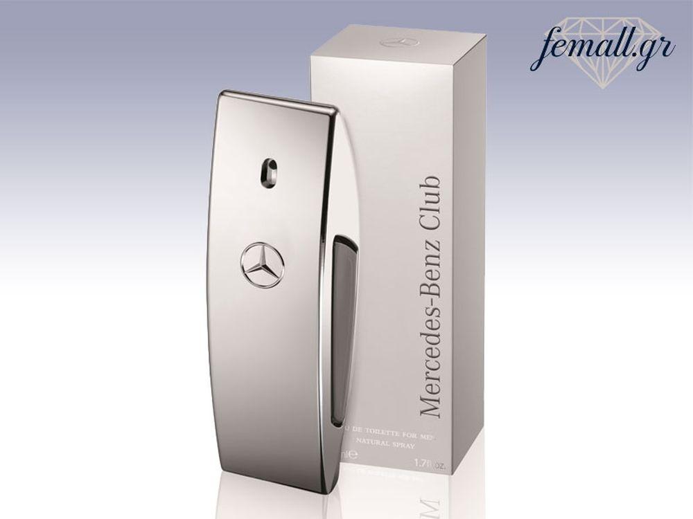 Το νέο άρωμα CLUB από τη Mercedes - Benz