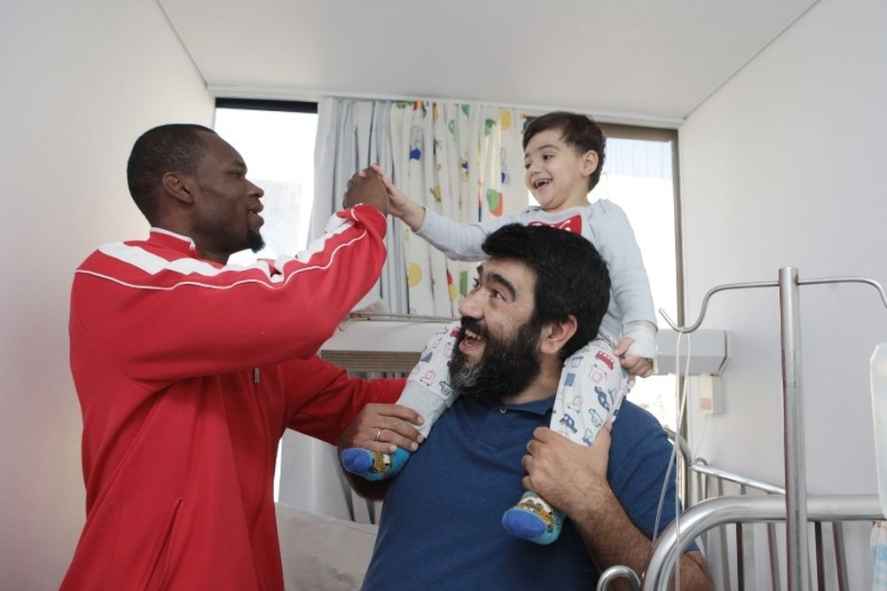 Ολυμπιακός: Χαρά στα παιδιά (photos)