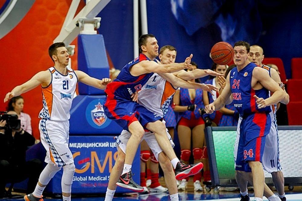 ΤΣΣΚΑ Μόσχας: Ακόμα μία νίκη στη VTB League (photos+video)