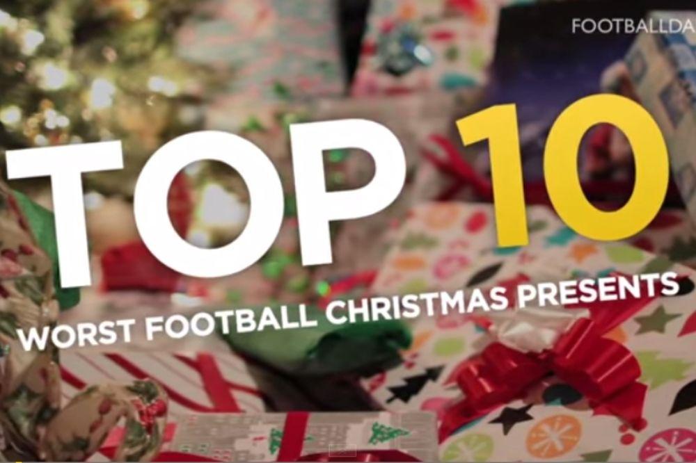 Τα 10 χειρότερα ποδοσφαιρικά δώρα (video)