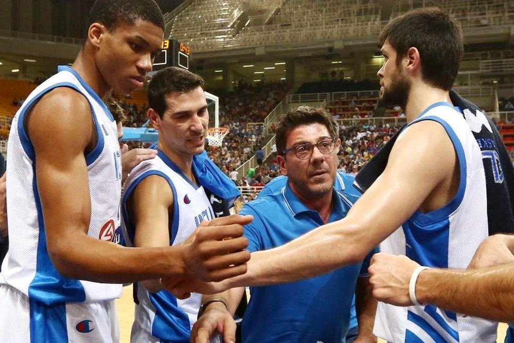 Εθνική Ελλάδας: Είδε τους NBAers ο Κατσικάρης