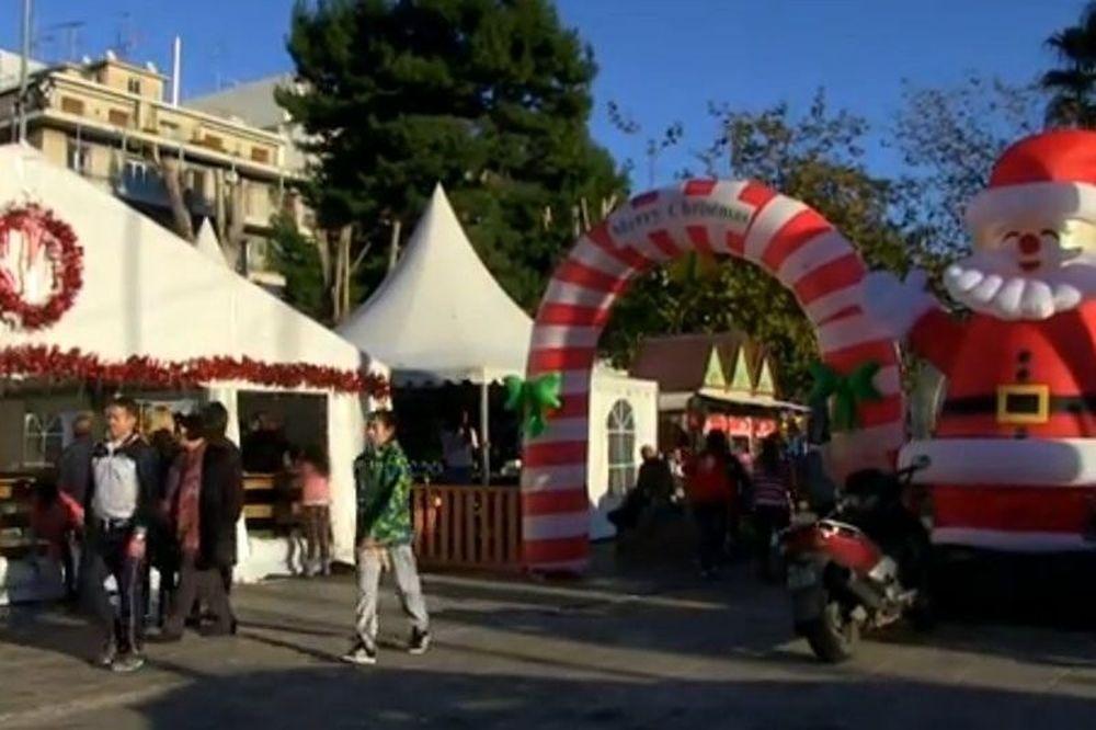 Ολυμπιακός: Το Χριστουγεννιάτικο Πάρκο του Πειραιά! (video)