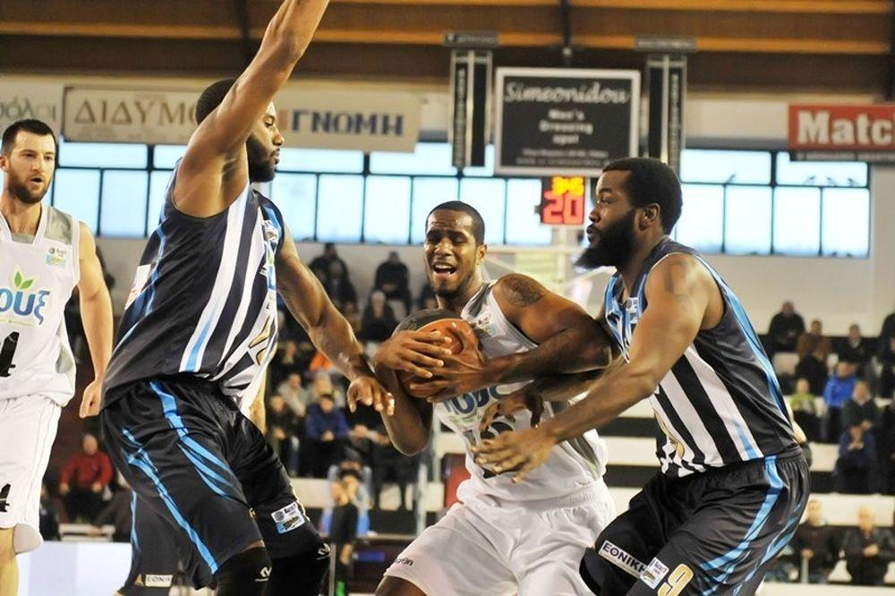 Basket League: Απόλλωνας Πατρών -  Κόροιβος Αμαλιάδας 77-72 παρ. (photos)
