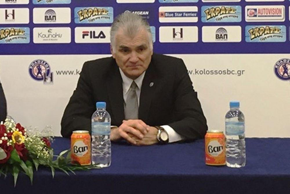 Μαρκόπουλος: «Παίξαμε έξυπνα στη Ρόδο»