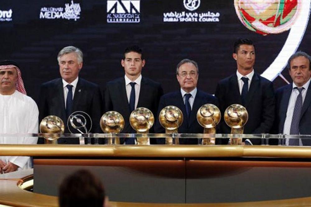 Σάρωσε η Ρεάλ Μαδρίτης  στα Globe Soccer Awards (videos+photos)