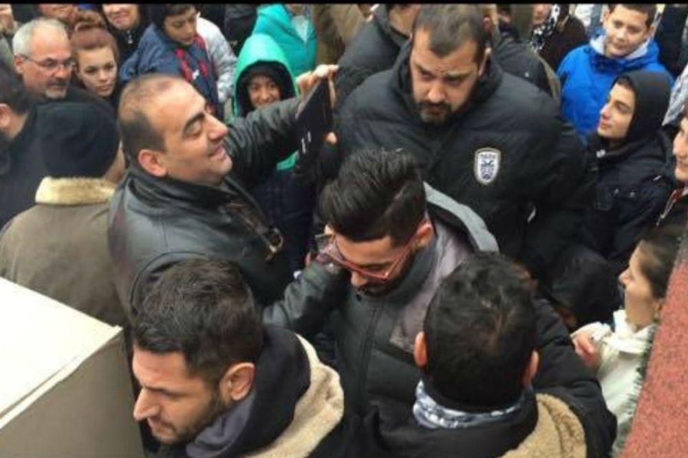 ΠΑΟΚ: Στήριξη στην οικογένεια του Παντελή Κυριακίδη (photos)