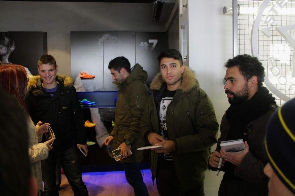 Αστέρας Τρίπολης: Γιορτή στο Star Store για το 2014 (video)
