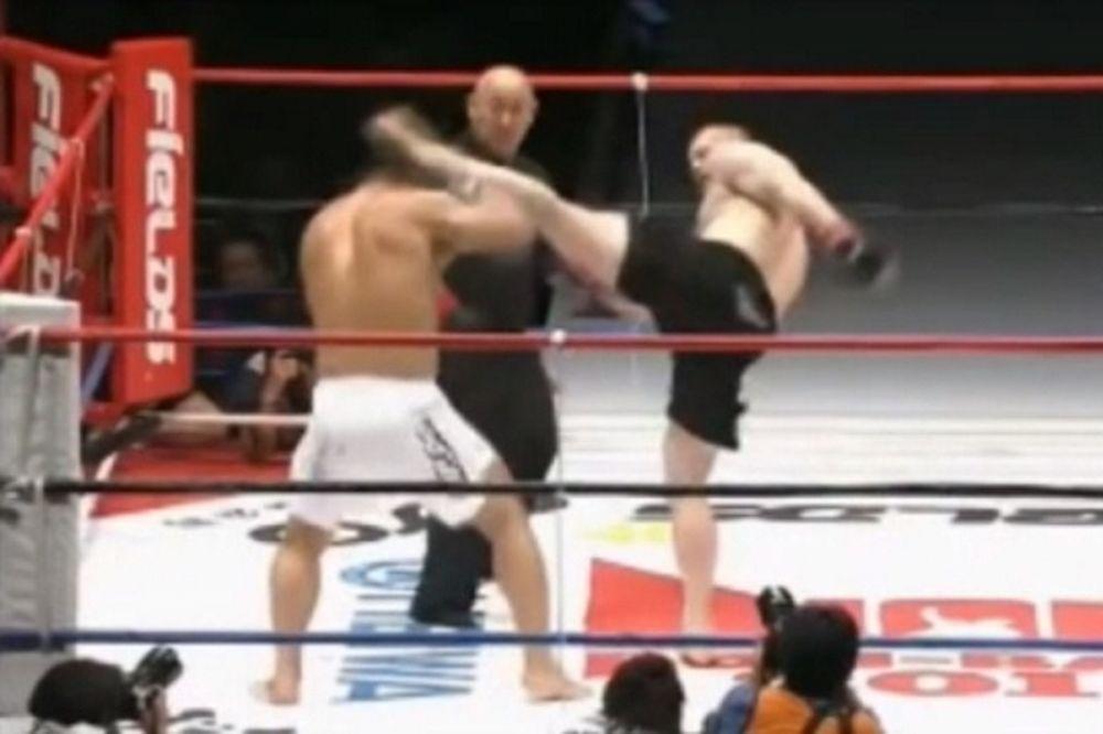 MMA: Θεαματικό νοκ άουτ για Mirko Filipovic (videos)