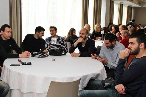 Παπακωνσταντίνου: «Ομάδα ολόκληρης της πόλης η Καβάλα» (photos)