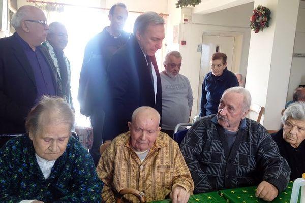 Παναθηναϊκός: Επίσκεψη στο Γηροκομείο Χανίων (photos)