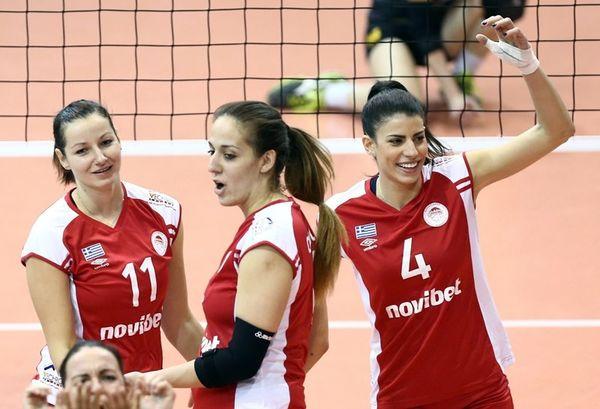 Ολυμπιακός: MVP η Κωνσταντινίδου (photos)