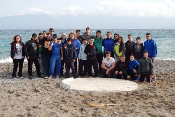 Στίβος: Σφαιροβολία και μήκος στην παραλία