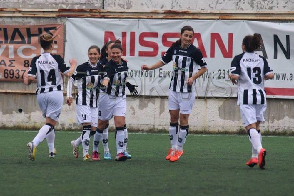 Α' Ποδοσφαίρου Γυναικών: Καρέ - καρέ το 13-0 του ΠΑΟΚ (photos)