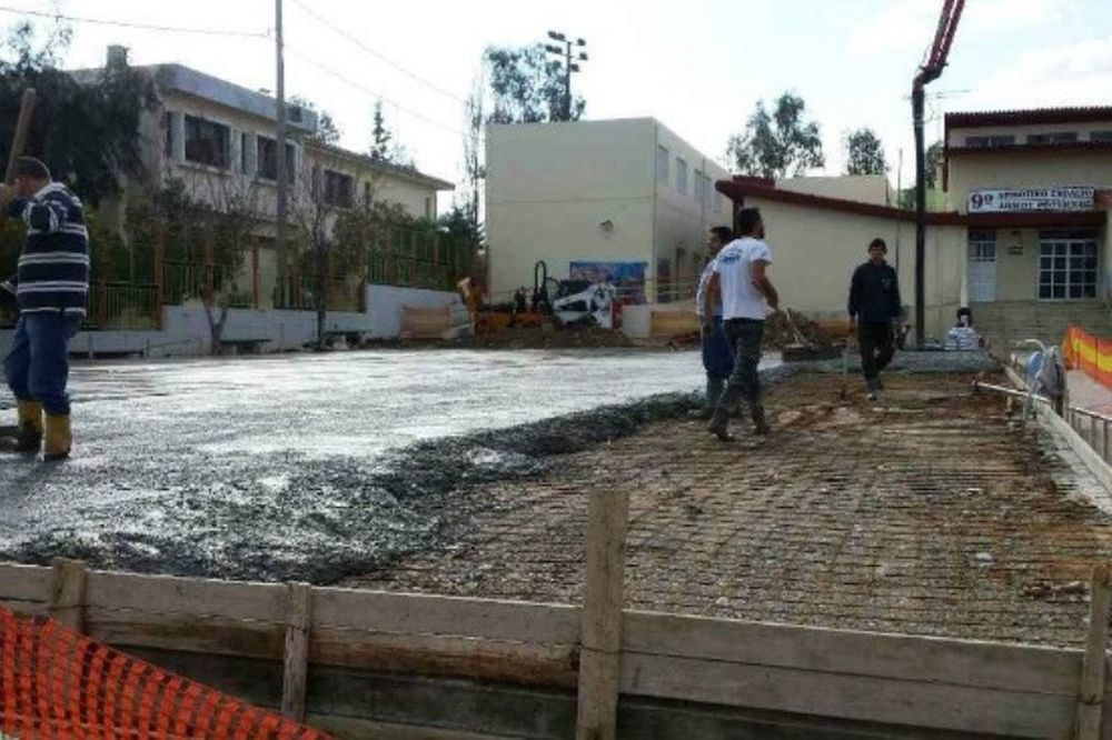 Ρέθυμνο: Συνεχίζεται το χτίσιμο (photos)