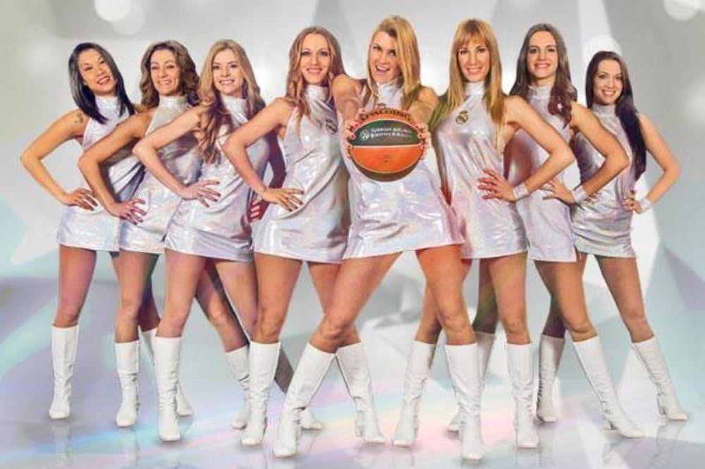Ρεάλ Μαδρίτης: Οι «εκρηκτικές» cheerleaders (video)