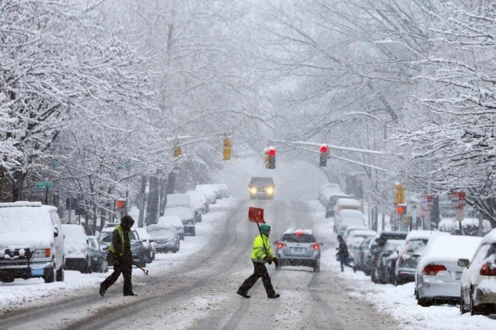 Νιου Γιορκ Νικς: Αναβλήθηκε το ματς με Κινγκς λόγω χιονοθύελλας