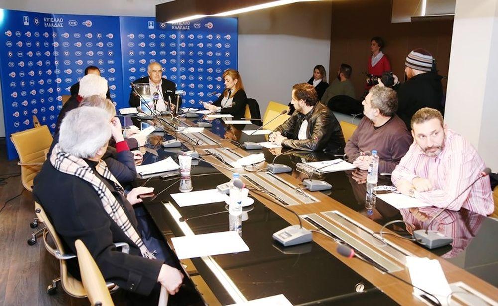 Κύπελλο Ελλάδας: Τα κλικ της κλήρωσης (photos)