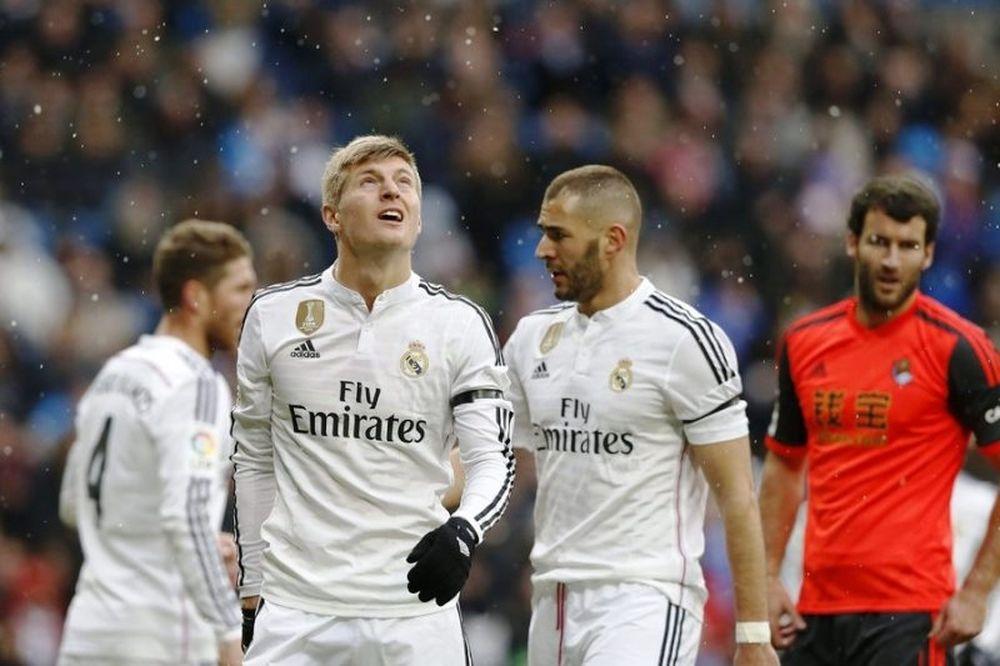 Ρεάλ Μαδρίτης – Σοσιεδάδ 4-1 (video)