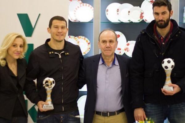 Παναιτωλικός: Βραβεύτηκαν Άλβες, Στεφανάκος (photos)
