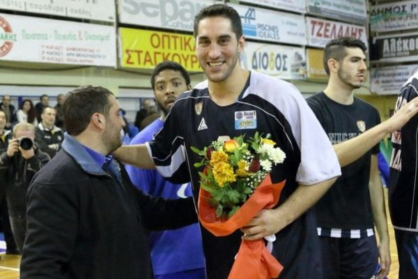 Αγγελόπουλος: «Ευχαριστώ από καρδιάς» (photos)