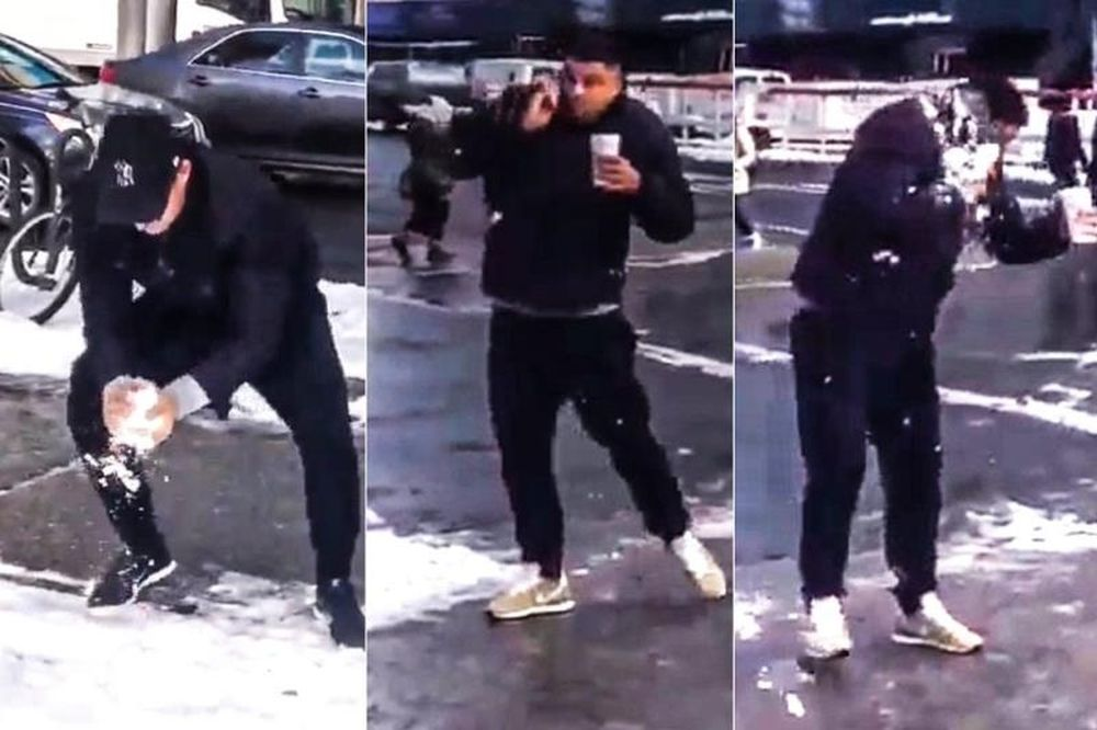 Ρονάλντο: Άμπαλος... στο χιόνι! (video)