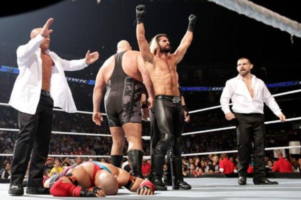 SmackDown: Χαοτική νίκη για Seth Rollins (photos+videos)