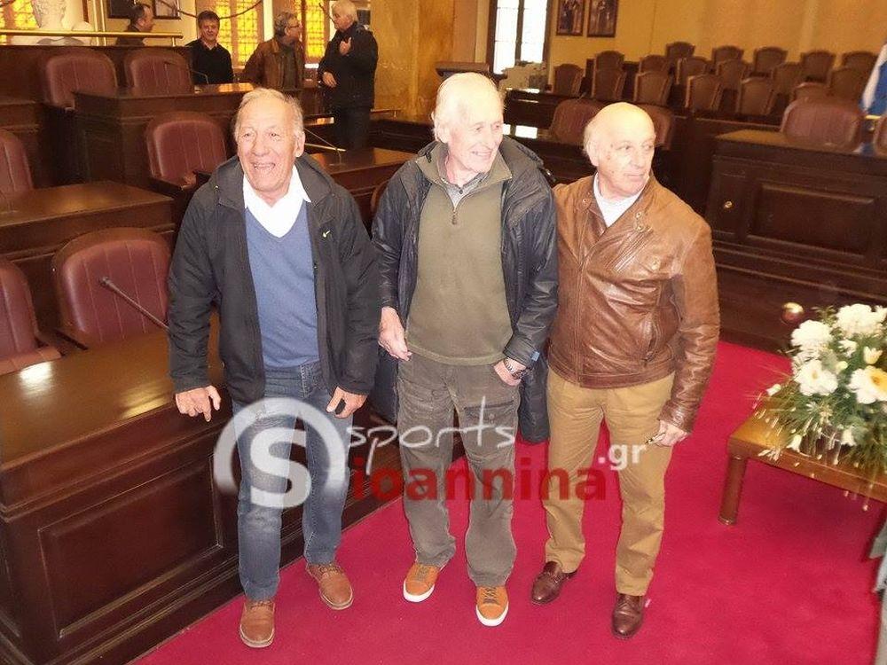 ΠΑΣ Γιάννινα: Ο Δήμος Ιωαννιτών βράβευσε τον Τσίτσε