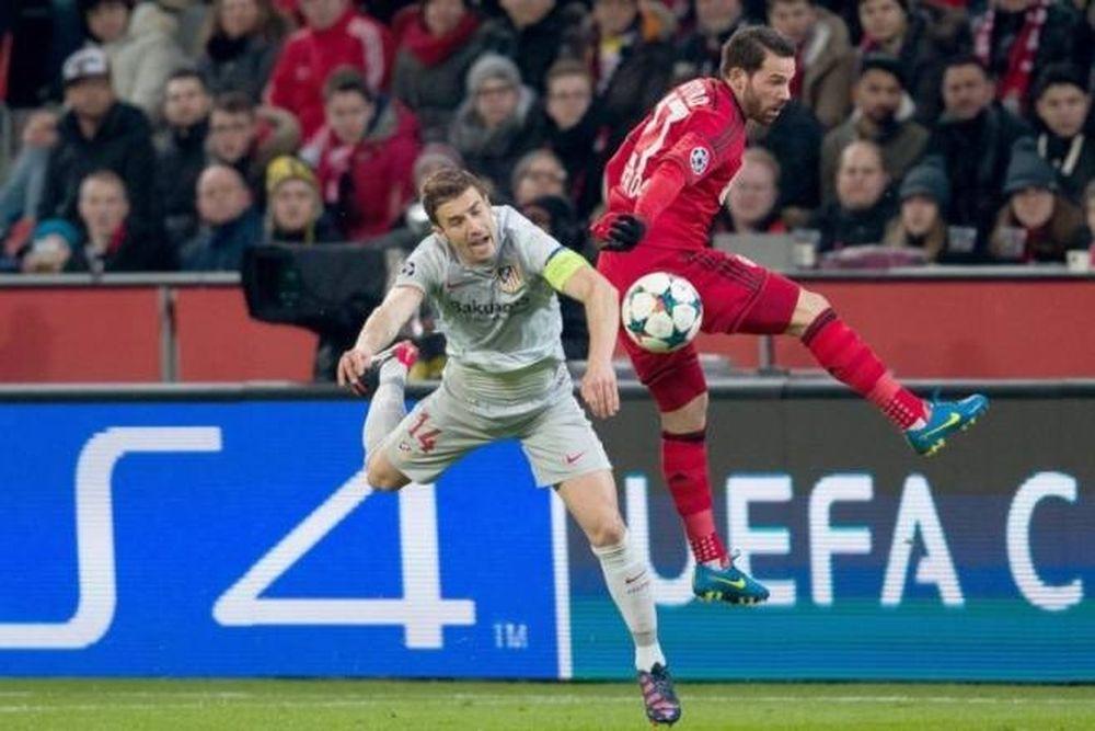 Λεβερκούζεν - Ατλέτικο Μαδρίτης 1-0 (video)