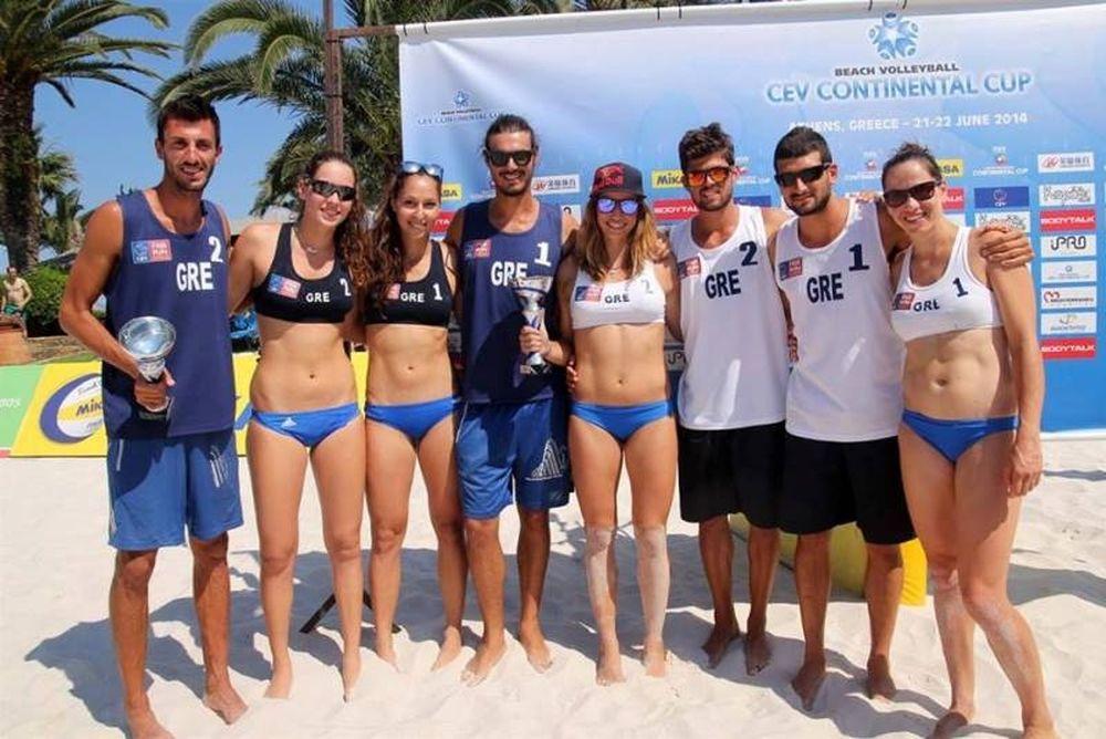 Μπιτς Βόλεϊ: Στη Θεσσαλονίκη ο όμιλος του Continental Cup