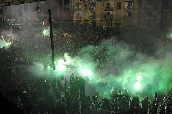 Onsports TV: Το συλλαλητήριο των οπαδών του Παναθηναϊκού (videos)