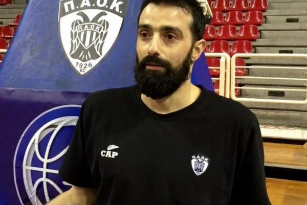 Χαραλαμπίδης: «Νιώθω υπερήφανος στον ΠΑΟΚ» (video)