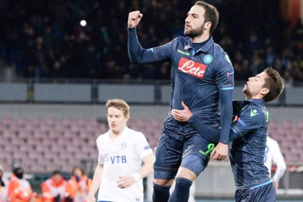 Νάπολι – Ντιναμό Μόσχας 3-1 (videos)